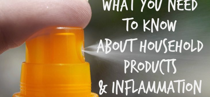 Household Products & Inflammation – What You Need to Know to Reduce It